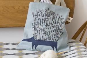 hedgehog craft bag photo